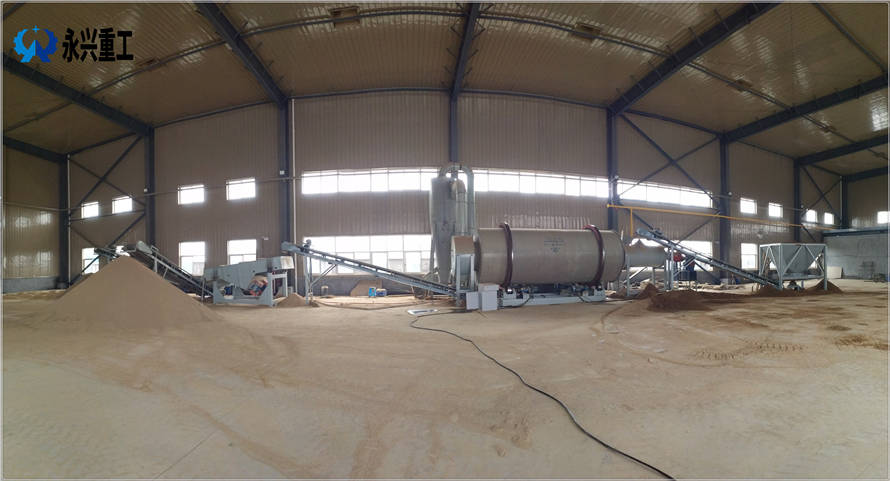 时产30吨砂子烘干设备