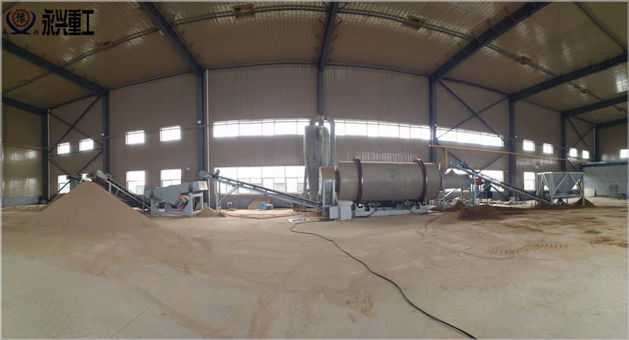 大型沙子烘干机